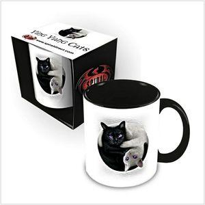 YIN YANG CATS - Ceramic Mug 0.3L - Gift Boxed